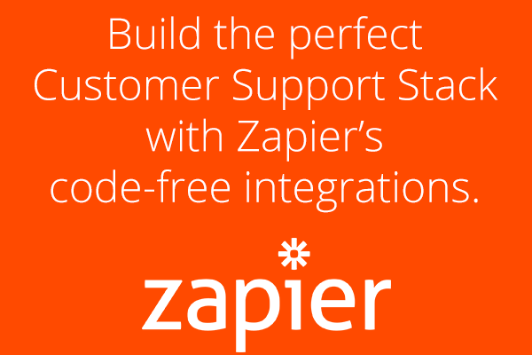 Build the perfect Customer Support Stack with Zapier's app integrations.